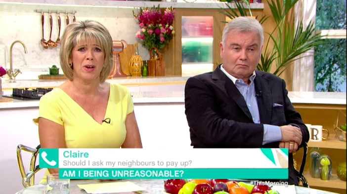 "Eamonn Holmes TOLD OFF by This Morning guest for ""attacking"" wife Ruth Langsford"