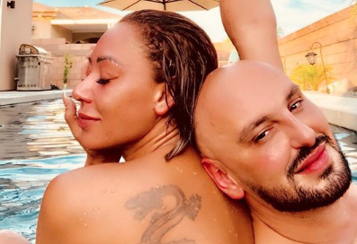 Defiant Mel B celebrates friendship with skinny-dipping session