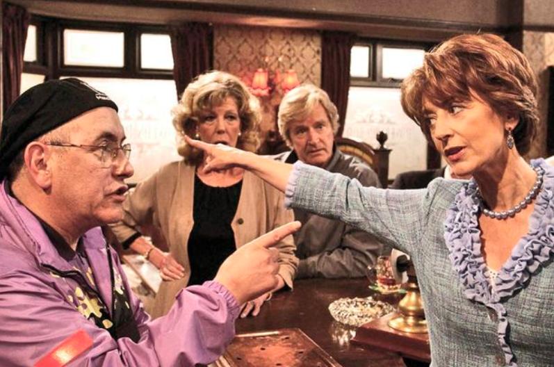 Maureen Lipman as Lillian Spencer in Coronation Street in 2002
