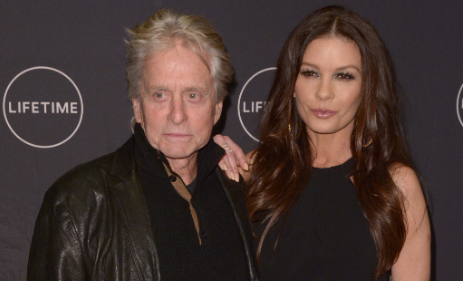Catherine Zeta Jones unveils intimate pic from first night she met Michael Douglas