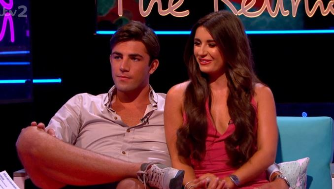 Love Island's Dani Dyer and Jack Fincham on The Reunion