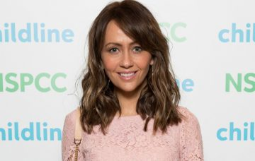 Samia Longchambon at The Childline Ball held at The Hilton Hotel Manchester