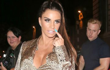 Katie Price And Kris Boyson Leave Acapulco Nightclub In Halifax