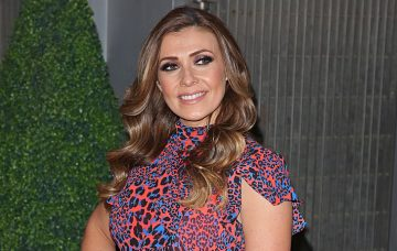 Kym Marsh at the OK Magazine - 25th Anniversary Party, The View From The Shard, London UK, 21 March 2018, Photo by Brett D. Cove