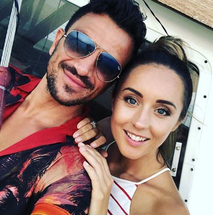 Peter Andre and wife Emily