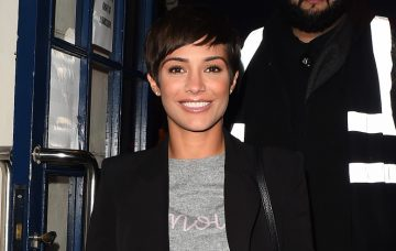 Frankie Bridge leaves Scala music venue following Louise Redknapp's latest gig