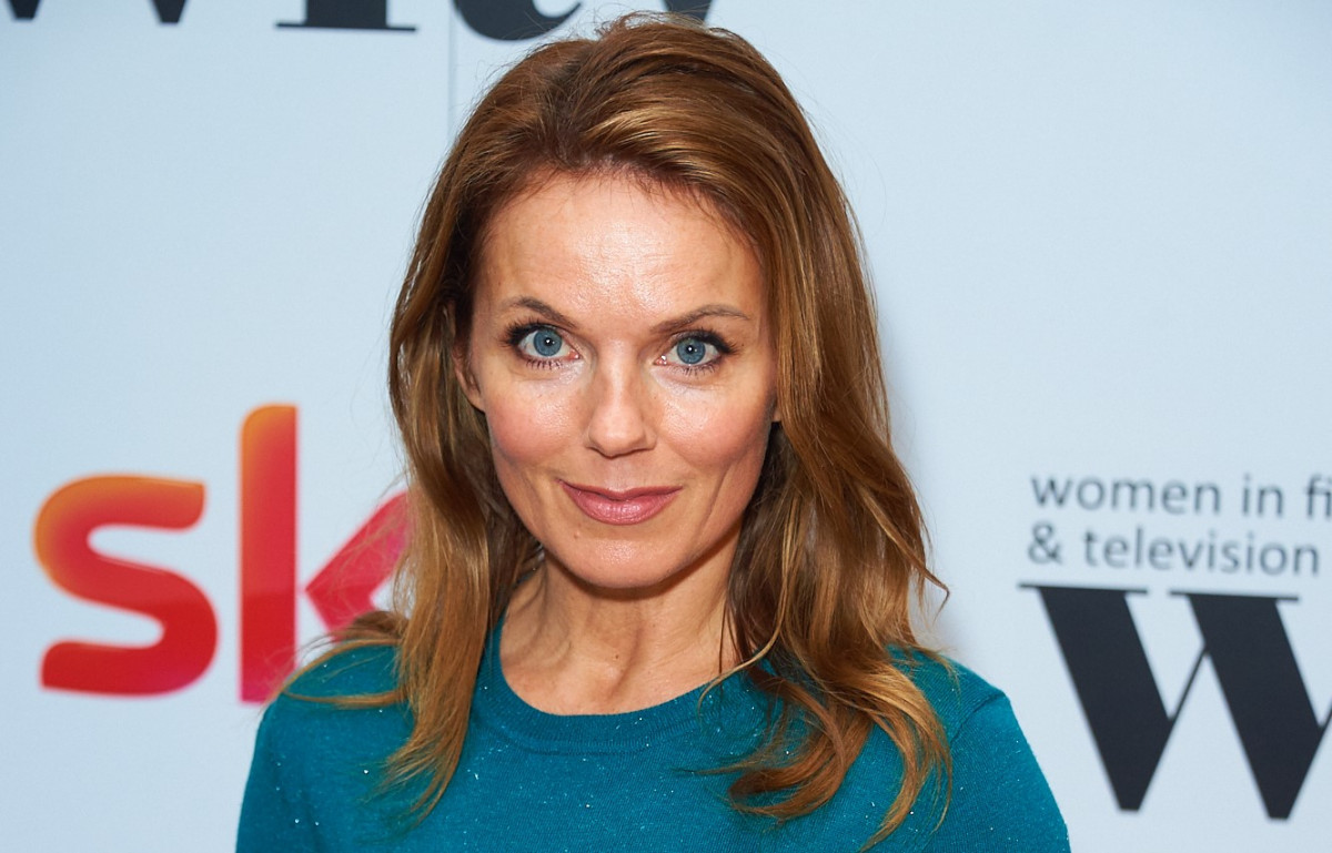 Geri Horner enjoys some bonding time with son Monty