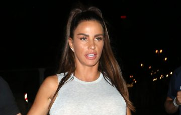Katie Price & Kris Boyson seen leaving Shooshh nightclub in Brighton