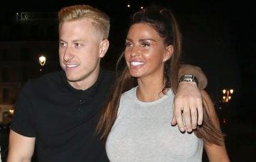 Kris Boyson and Katie Price