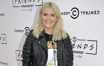 Lucy Fallon Celebs Arrive At The Comedy Gold Friends Festival In Manchester