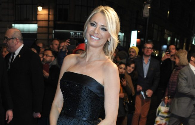 Tess Daly,Celebrities Attend The Sir Bruce Forsyth Event In London