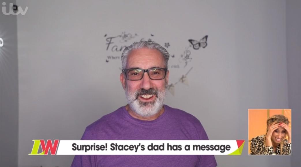 Stacey Solomon's dad