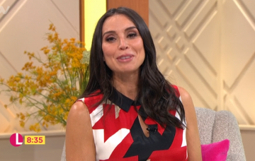 Christine Lampard on Lorraine