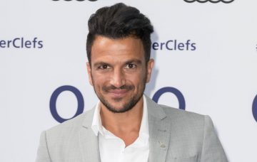 Peter Andre attends the Nordoff Robbins O2 Silver Clef Awards at The Grosvenor House Hotel on July 1, 2016 in London, England