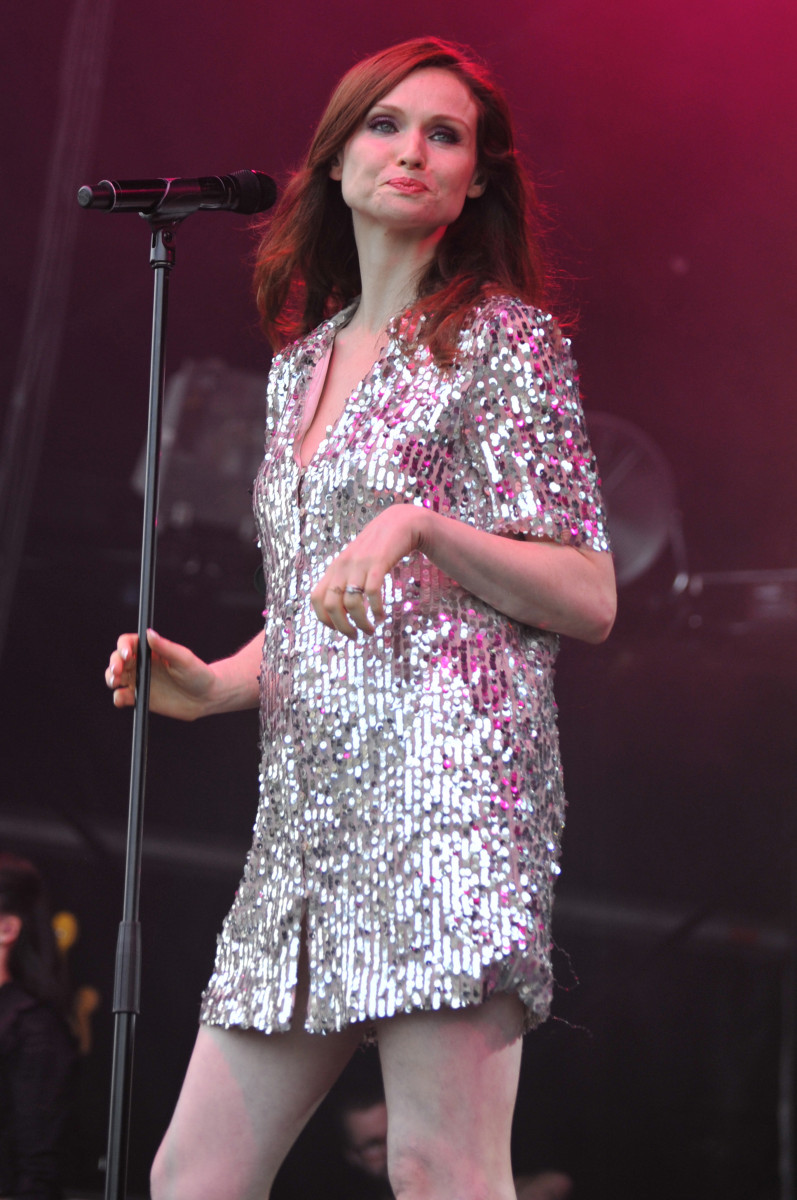 Sophie Ellis-Bextor Performs At Rochester Castle In Kent