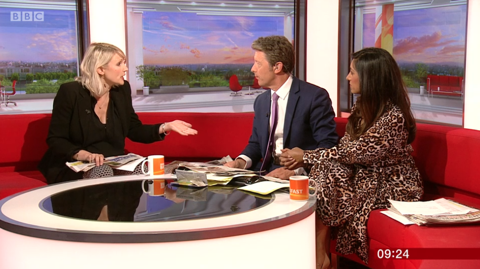 Viewers slam 'grumpy' BBC Breakfast host for blanking guest