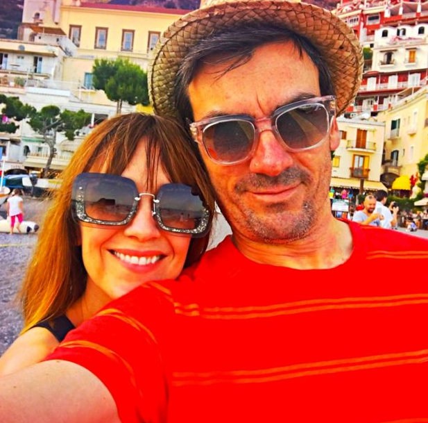 Zoe Henry and Jeff Hordley