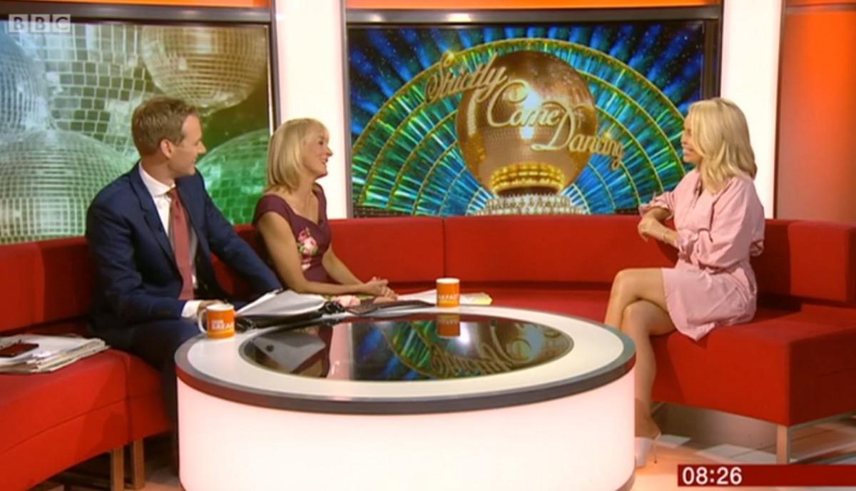 Katie Piper on BBC Breakfast