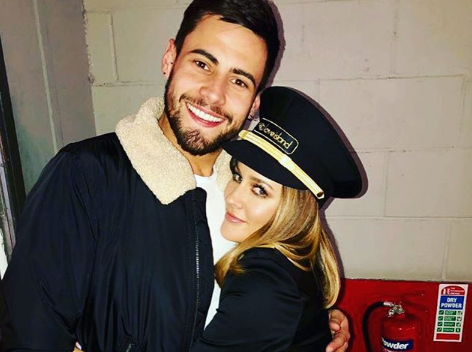 Andrew Brady and Caroline Flack (Credit: Instagram)