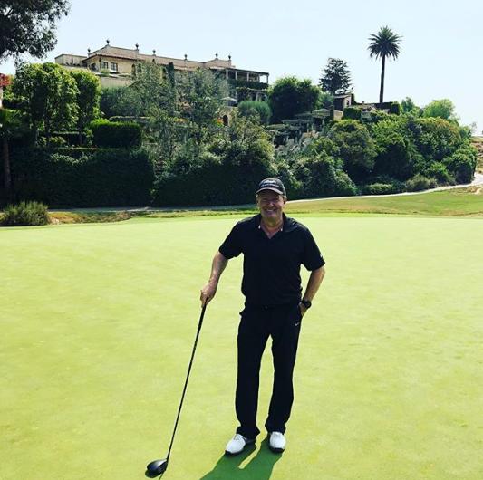 Piers Morgan in Los Angeles