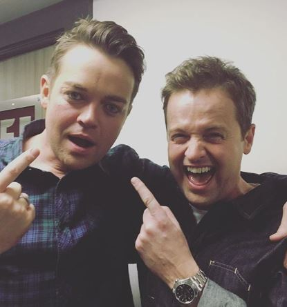Stephen Mulhern and Dec Donnelly