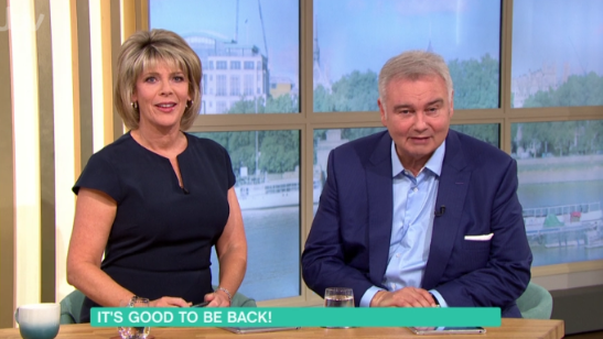 Eamonn Holmes shares his pride over son's new wife