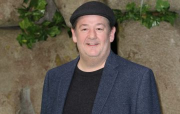 Johnny Vegas at the Early Man UK film premiere at the BFI IMAX,