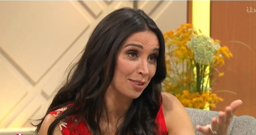 Christine Lampard interviews Carlton Wilborn on Lorraine