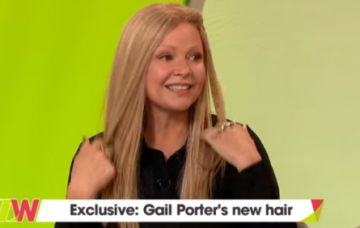 Gail Porter on Loose Women (Credit: ITV)