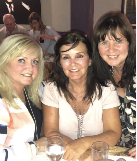 coleen Nolan with her sisters (Credit: Instagram)