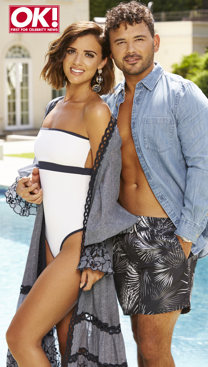 Lucy Mecklenburgh and Ryan Thomas for OK! Magazine