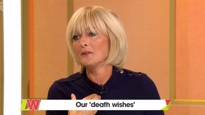 Jane Moore, Loose Women discuss their 'death wishes'