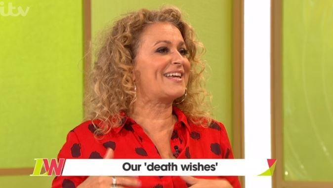 Nadia Sawalha shocks Loose Women panel with her 'death wish'