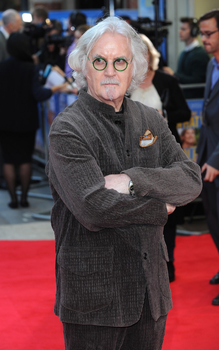 Billy Connolly, 'What We Did On Our Holiday' World Premiere, London
