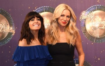 Tess Daly and Claudia Winkleman, Strictly Come Dancing 2017 Live Launch