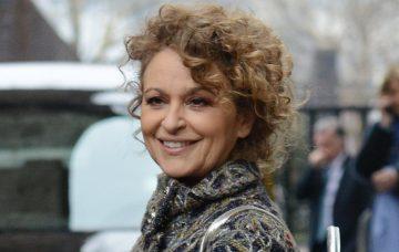 Nadia Sawalha, Celebrities Seen At The ITV Studios In London