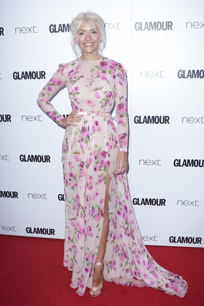 Holly Willoughby, Celebrities Arrive At The Glamour Women Of The Year Awards In Berkeley Square
