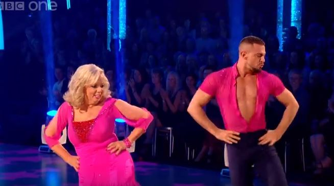 Deborah Meaden and Robin Windsor on Strictly