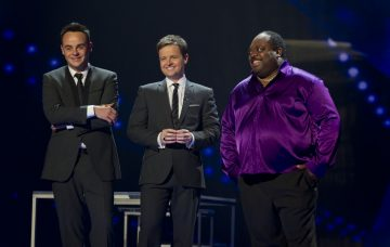 Britain's Got Talent' TV Programme,London, Britain - 3 June 2011 Ant and Dec [Anthony McPartlin, Declan Donnelly] with Antonio Popeye