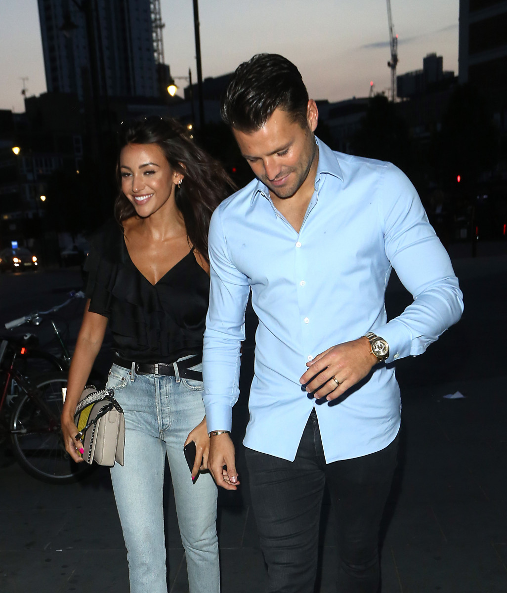 Mark Wright and Michelle Keegan, Just Eat Food Fest in Shoreditch, London