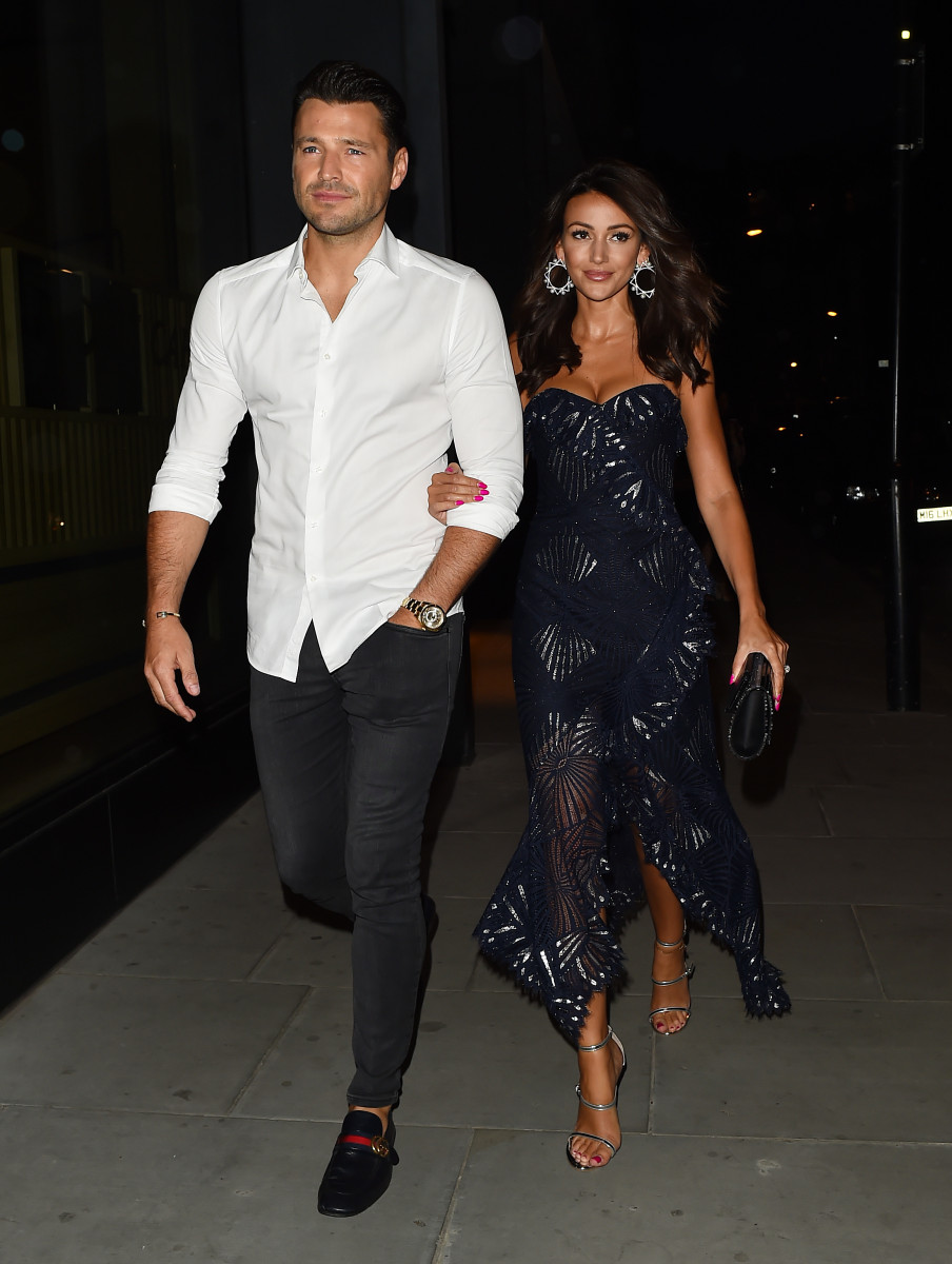 (credit: Hewitt/Splash) Mark Wright and Michelle Keegan, Celebrities attend the ITV Summer Party at Nobu Hotel in Shoreditch
