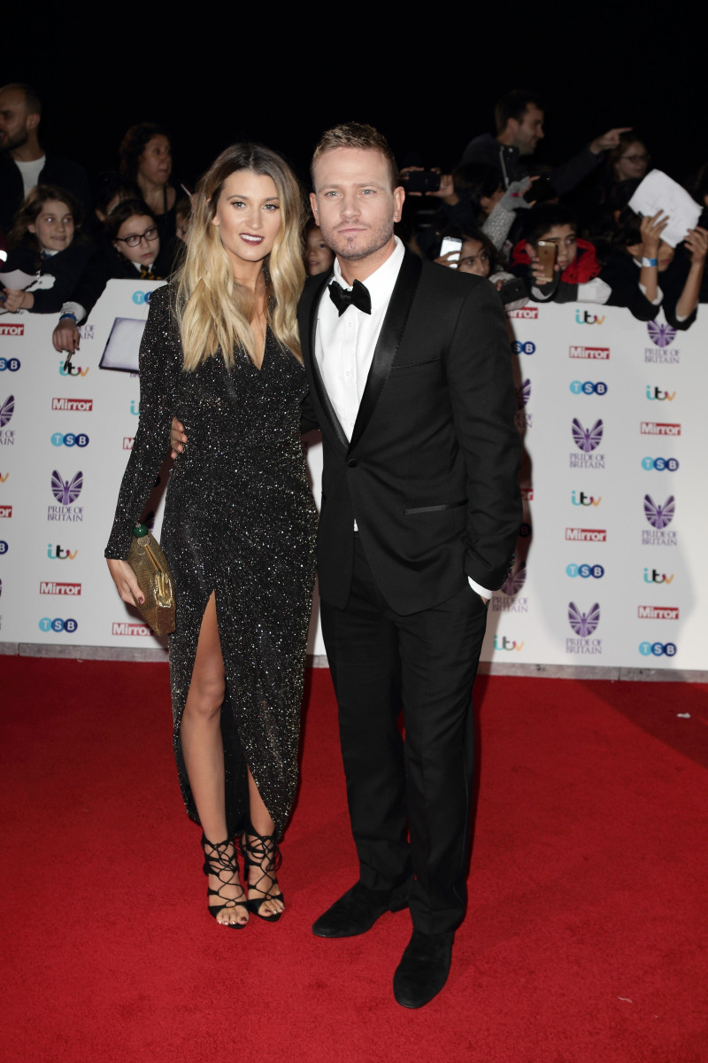 Charley webb and Matt Wolfenden, VIP Guests Attend The Pride Of Britain Awards 2016 In London