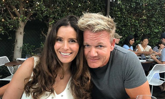 Gordon Ramsay and his wife Tana