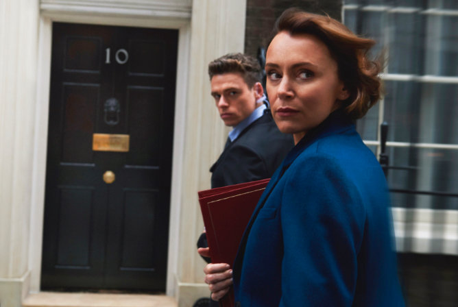Serial soap star appears in the Bodyguard - did you spot them?