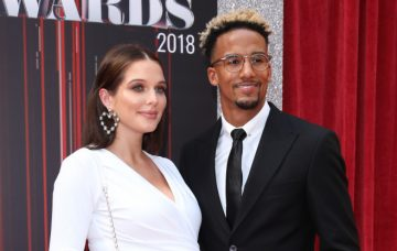 Helen Flanagan, Scott Sinclair The British Soap Awards 2018 held at the Hackney Empire - Arrivals
