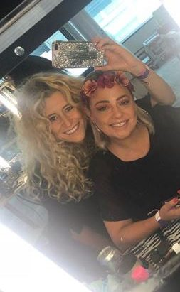 Lisa Armstrong and Lisa Davey on Strictly set