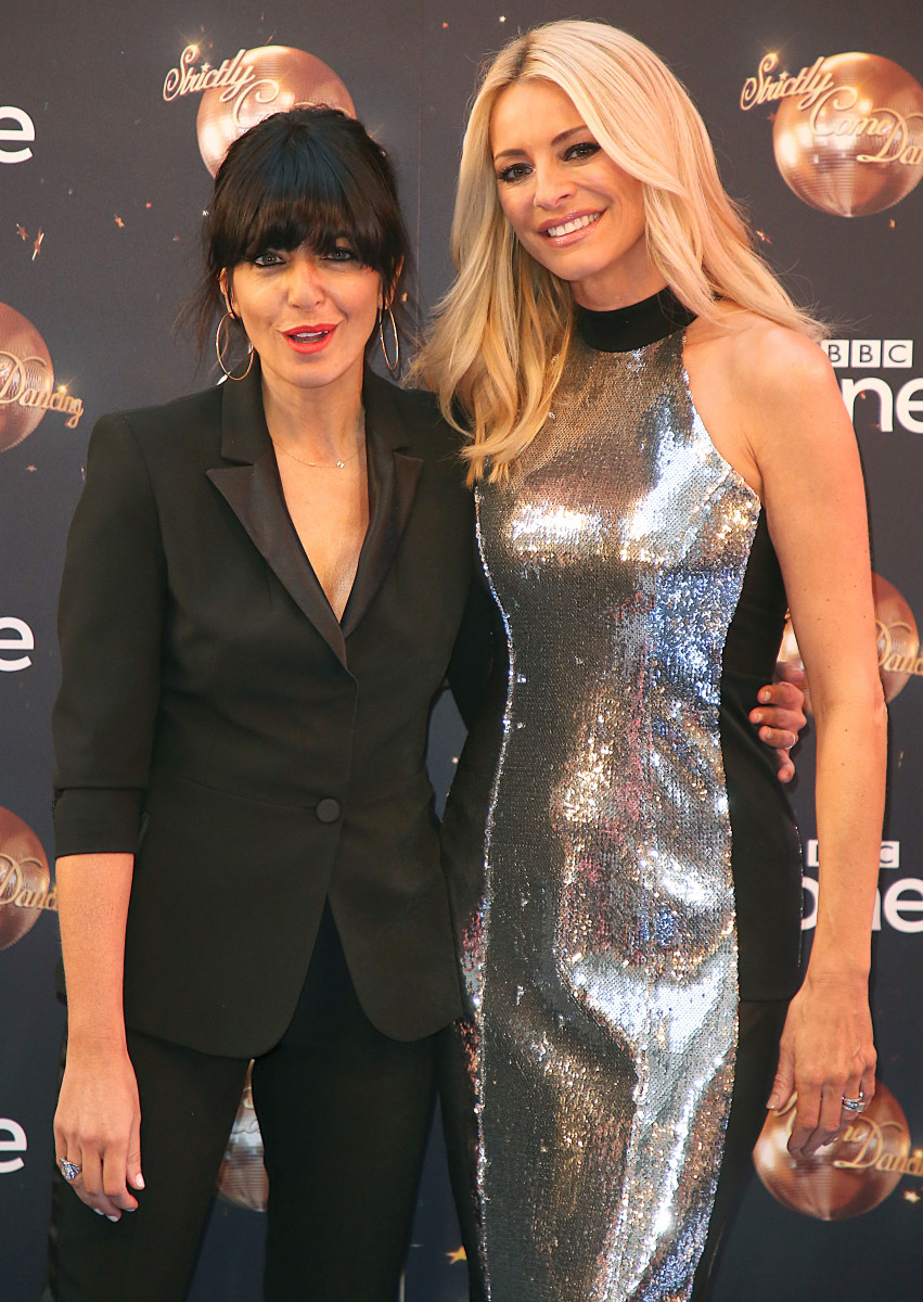 Tess Daly and Claudia Winkleman, Strictly Come Dancing 2018 - Launch Show