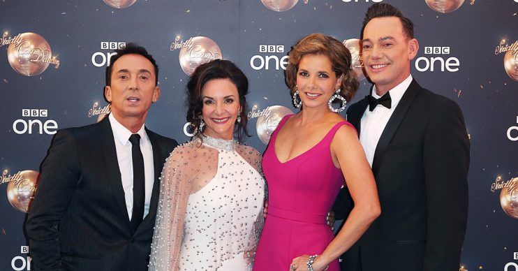 (credit: Brett D Cove/Splash) Strictly judges Bruno Tonioli, Darcey Bussell, Shirley Ballas and Craig Revel Horwood,