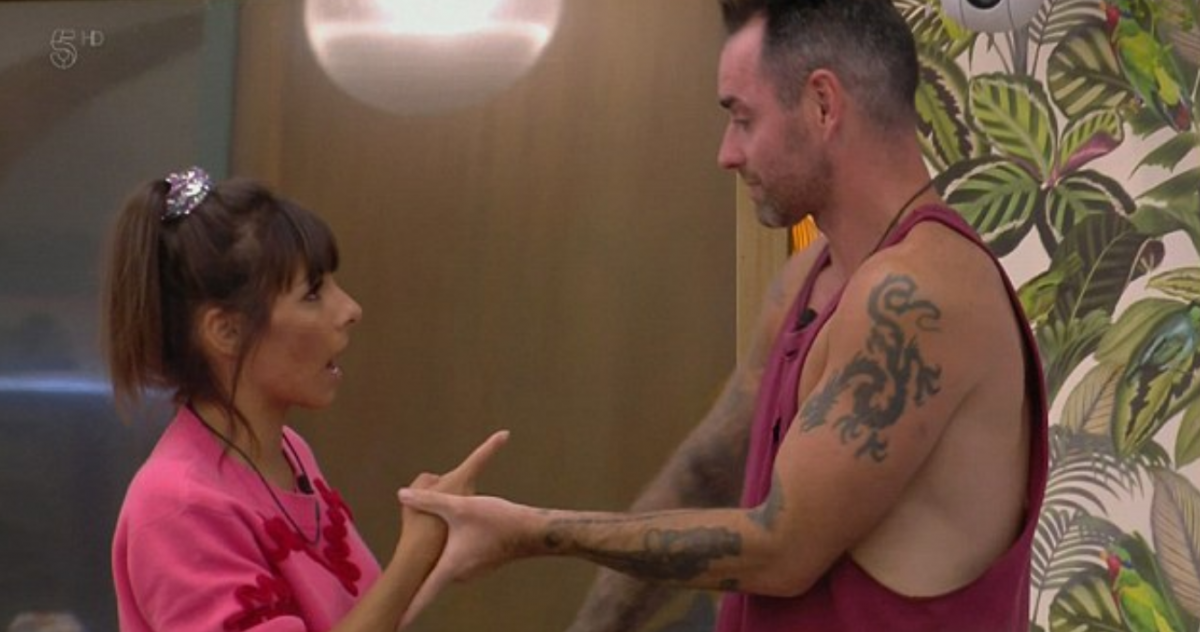 Roxanne Pallett and Ben Jardine in cbb