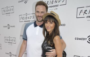 Roxanne Pallett and fiance Lee Walton